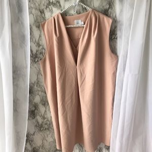 Blush Maternity Dress